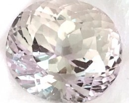 Glowing 8.65ct Silvery (Colorless) Kunzite A273