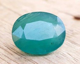 7.90 Ct Natural Greenish Blue Oval Cut Rarest Grandidierite Gemstone