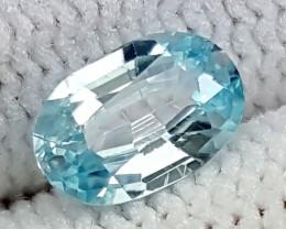 1.05CT BLUE ZIRCON BEST QUALITY GEMSTONE IGC464
