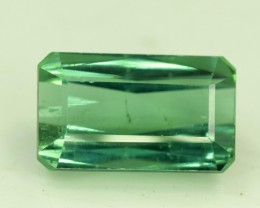 6.40 cts Green Color Afghan Tourmaline Gemstone From Afghanistan