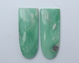 40ct Hot Sale Natural Turquoise Cabochon Pair(18062507)