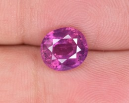 Natural Ruby 2.44 Cts From Pakistan Kashmir