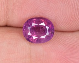 Natural Ruby 2.46 Cts From Pakistan Kashmir
