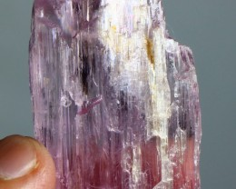 185 ct Unheated & Natural Afghan Pink color Kunzite  Crystal