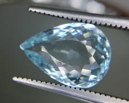 2.95 Crt Aquamarine Faceted Gemstone (R 198)