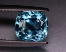 No Reserve 3.90 Crts BLUE Zircon from Cambodia