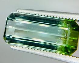 5.30 Crt Natural Bi Colour Tourmaline Faceted Gemstone