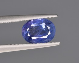 Natural Sapphire 1.29 Cts from Kashmir Pakistan