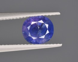 Natural Sapphire 1.82 Cts from Kashmir Pakistan