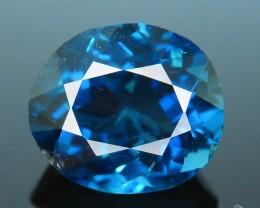 Amazing 2.68 ct Royal Blue Indicolite Tourmaline Mozambique SKU.16