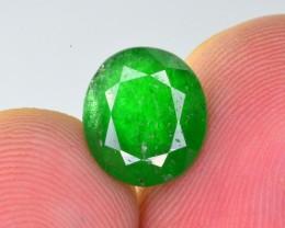 3.05 Ct Brilliant Color Natural Swat Emerald ~ IA