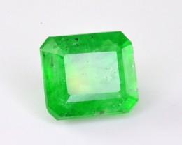 1.20 Ct Superb Vivid Green Color Natural swat Emerald ~ IA