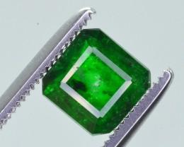 1.05 Ct Brilliant Color Natural Swat Emerald ~ IA
