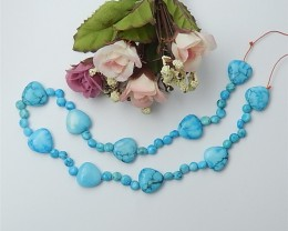 30g  37CM  Special Gift Natural Howlite Necklace (18062712)