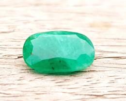2.20 Ct Natural Green Color Emerald Gemstone