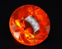 Rarest 1.30 ct Mexican Fire opal