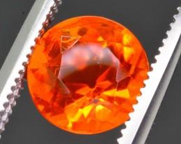 Rarest 1.10 ct  Mexican Fire opal