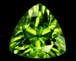 No Reserve -  2.45 cts Top Grade Natural Olivine Green Natural Peridot Gems