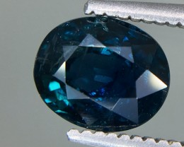 1.41 Crt GIL Certified Unheated Sapphire Faceted Gemstone