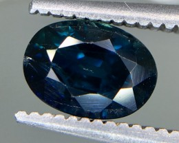 1.31 Crt GIL Certified Unheated Sapphire Faceted Gemstone