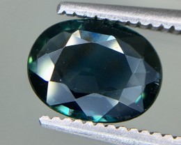 1.27 Crt GIL Certified Unheated Sapphire Faceted Gemstone