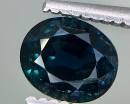 1.10 Crt GIL Certified Unheated Sapphire Faceted Gemstone