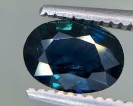 1.02 Crt GIL Certified Unheated Sapphire Faceted Gemstone