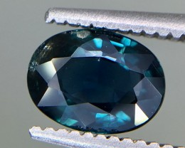 1.08 Crt GIL Certified Unheated Sapphire Faceted Gemstone