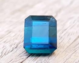 4.20 Ct Natural Dark Blueish Tourmaline Gemstone
