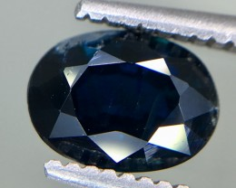 1.21 Crt GIL Certified Unheated Sapphire Faceted Gemstone