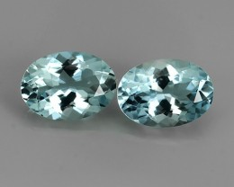 1.45 EXQUISITE NATURAL UNHEATED BLUE  AQUAMARINE
