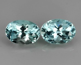 1.62 EXQUISITE NATURAL UNHEATED BLUE  AQUAMARINE