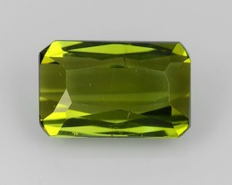1.98-CTS LUXURY! GREEN TOURMALINE OCTAGON-CUT  MOZAMBIQ NR!!!