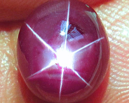 5.77 Carat Top Star Ruby - Gorgeous