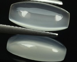 5.98 Cts Natural Fine Luster White Moonstone Cab Gemstone