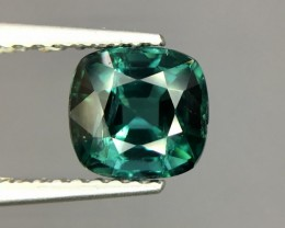 1.24 Cts Untreated Indicolite Tourmaline Awesome Color ~ Afghanistan Pk31