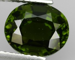 3.15 CTS GENUINE NATURAL ULTRA RARE FOREST-GREEN TOURMALINE NR!