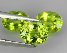 4.40 CTS SPARKLING AMAZING TOP FIRE PAKISTAN OVAL PERIDOT NR!!!