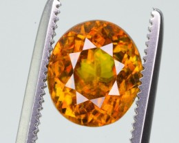 1.80 Ct Gorgeous Color and Fire  Natural Titanite Sphene ~ RA