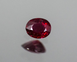 Red Ruby 0.44 ct Mozambique GPC Lab