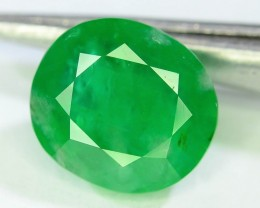 Certified 2.36 ct Natural Untreated Emerald~Swat
