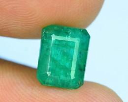 2.45 ct Natural Untreated Emerald~Panjshir S.1
