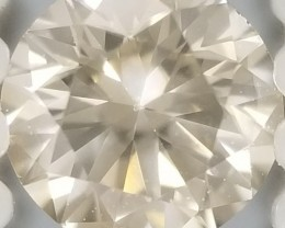 0.21 Cts VVS / White Natural Diamond Round Loose G3