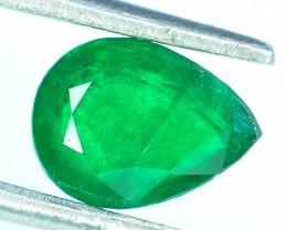 0.80 ct Natural Untreated Emerald~Swat