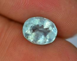 1.85 ct Natural Beryl Aquamarine~Untreated Afghanishtan