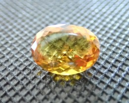 5.65 Cts HELIDOR Beryl Natural ORANGE HELIDOR Beryl