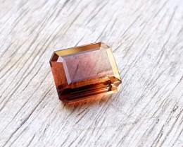 3.50 Ct Natural Bi Color Transparent Tourmaline Gem