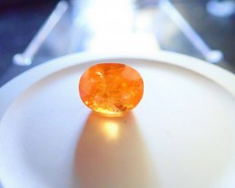 6.0 CT SPESSARTITE GARNET NAMIBIA PERFECT !