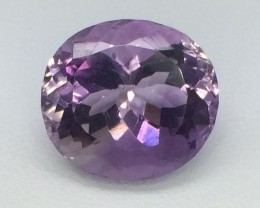 9.18 Crt Natural Amethyst Faceted Gemstone (MG 13)