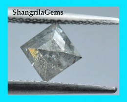 7.65mm 0.90ct salt pepper kite diamond shape diamond 7.65 by 7.65 by 3mm